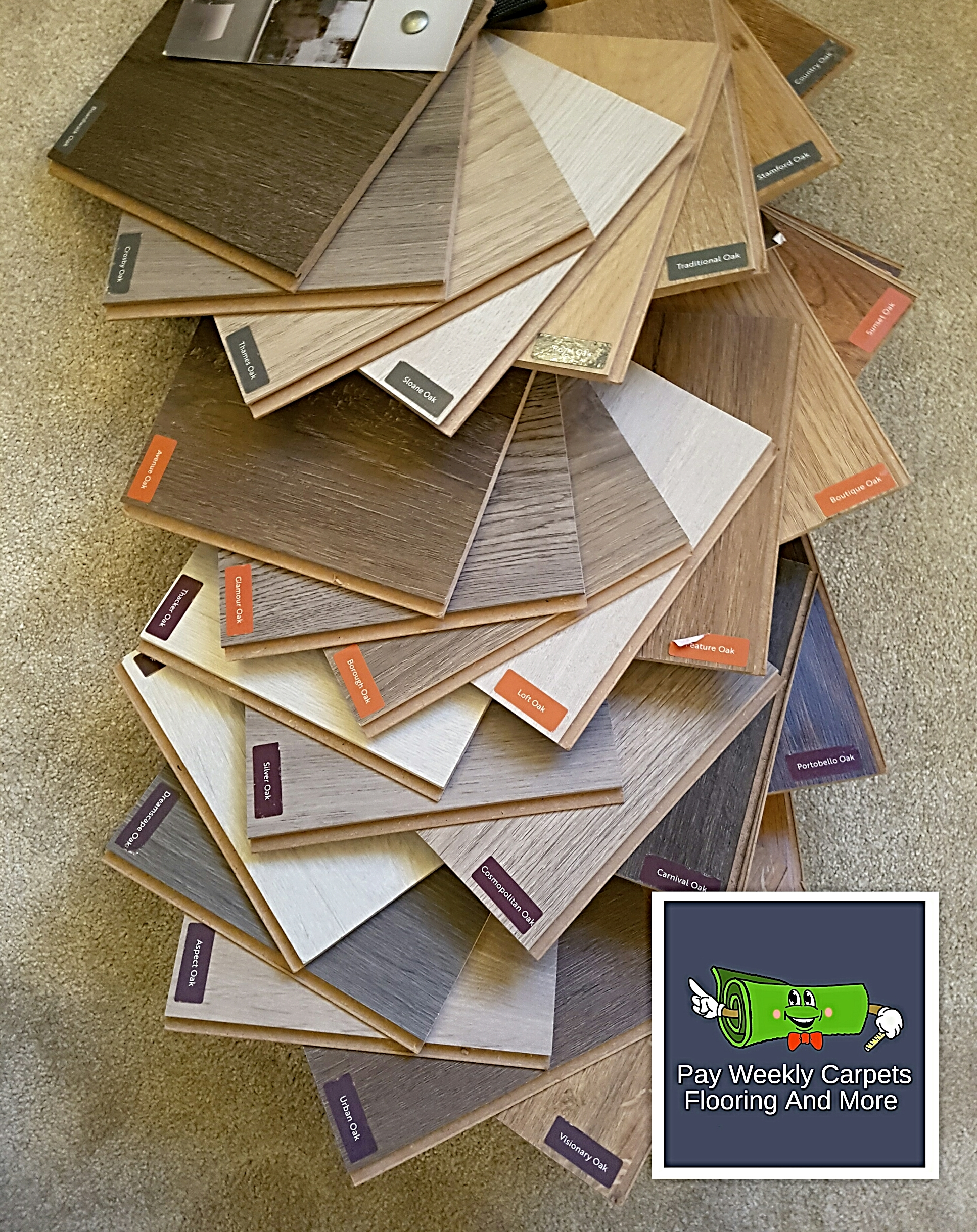 Laminate Flooring Samples